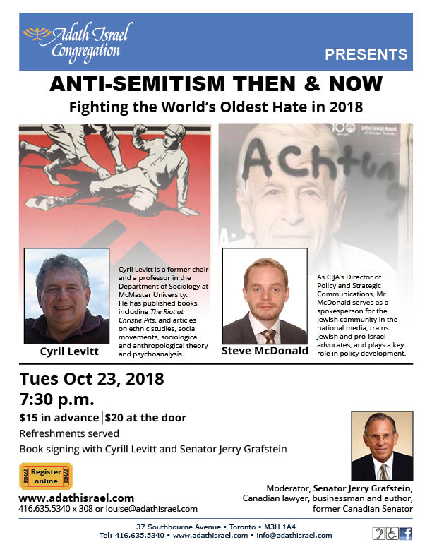 Anti-Semitism: Fighting the World's Oldest Hate in 2018