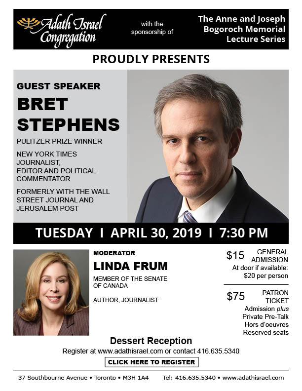Bret Stephens – April 30, 2019