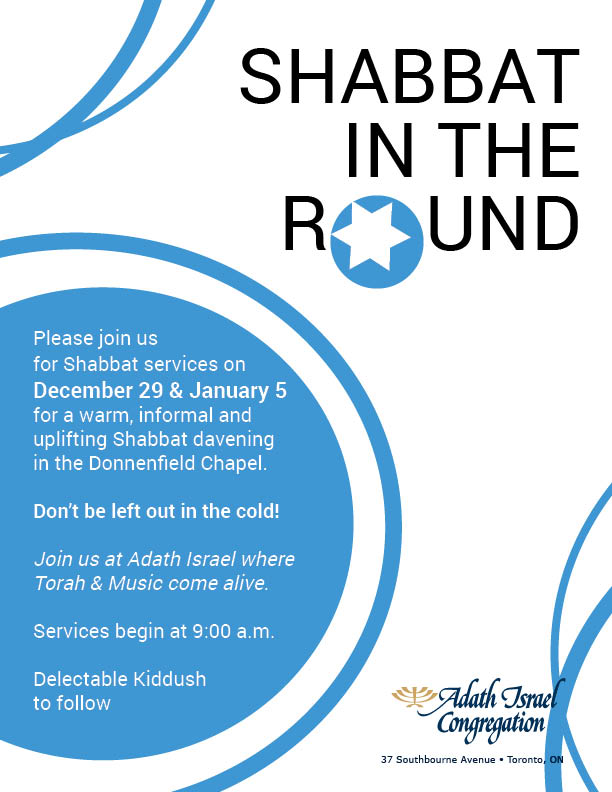 Shabbat in the Round