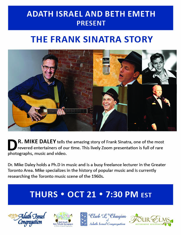 The Frank Sinatra Story with Dr. Mike Daley