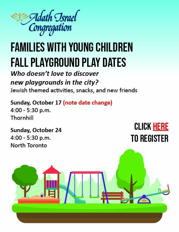 4:00 pm: Playground Play Dates